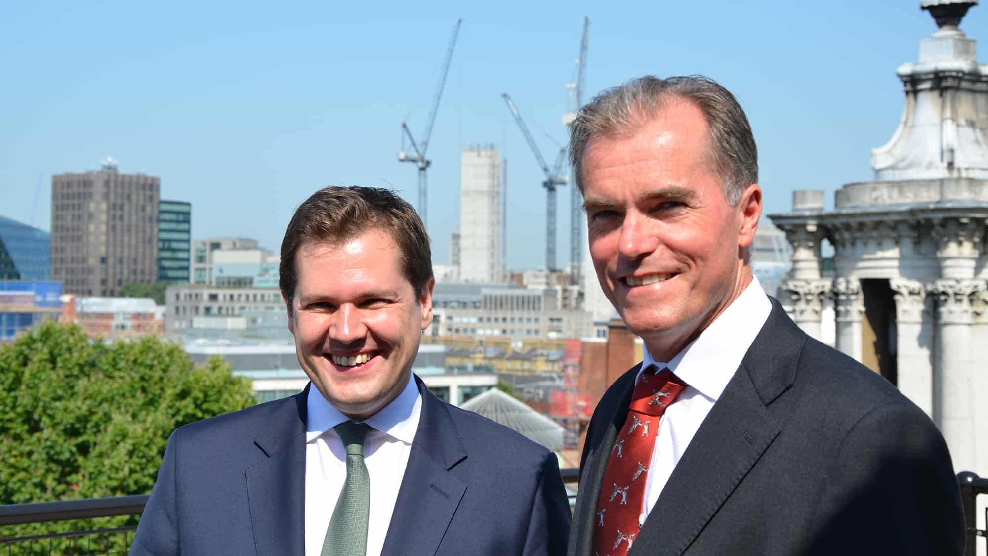 James Jamieson and Robert Jenrick MP