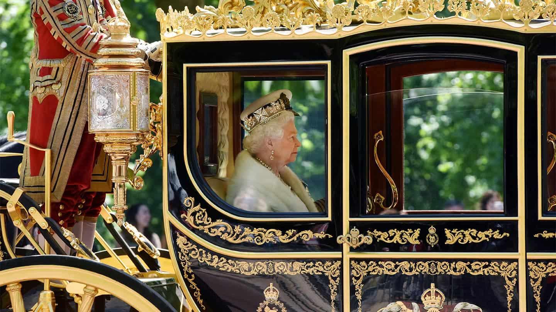 Queen in her carriage