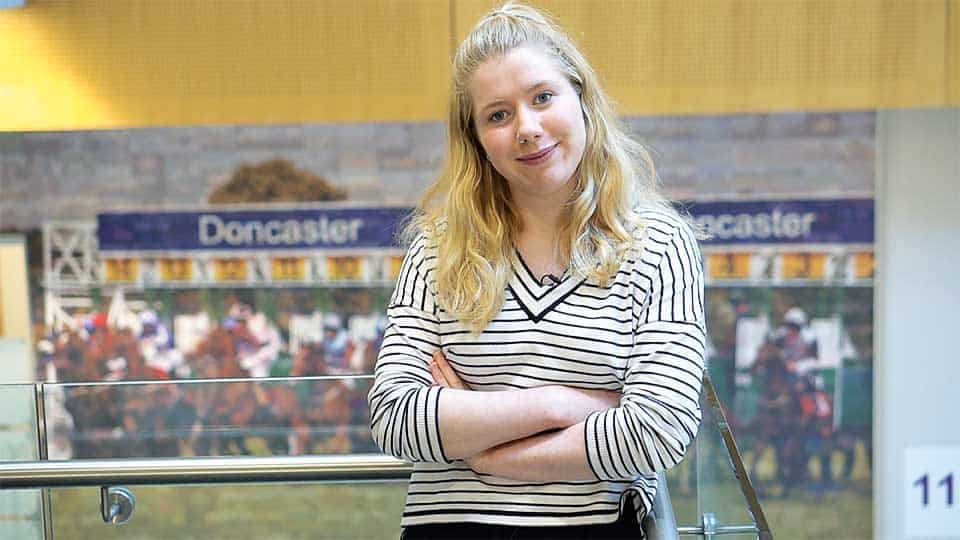 Katy Turner, a graduate trainee at Doncaster Council