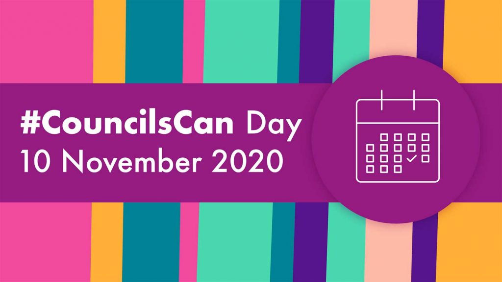 CouncilsCan Day is the 10 November 2020