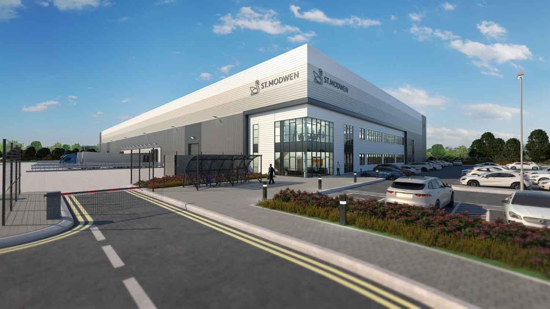 St Mowden's logistics building